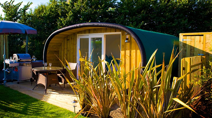 Glamping Pods Cornwall - Atlantic Surf Pods