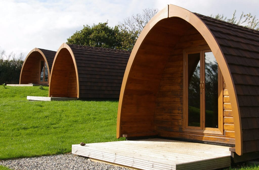 Glamping Pods Cornwall - Meadow Lakes