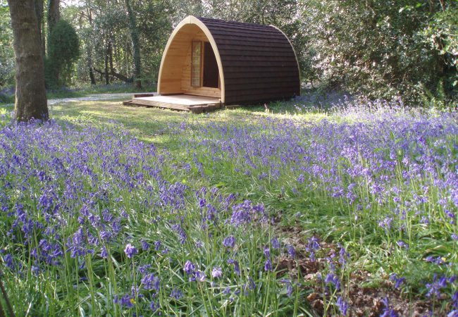 Glamping Pods Cornwall - Ruthern Valley